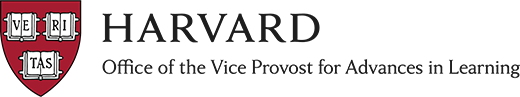 Logo - Harvard's Office of the Vice Provost for Advances in Learning