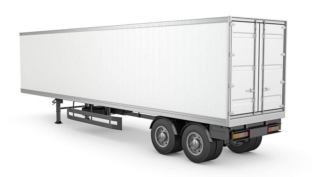 Photo of a semi trailer